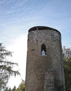 Chřiby - zřícenina hradu Cimburk